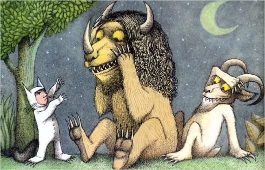 Where the Wild Things are - Nel Paese dei mostri selvaggi - Maurice Sendak