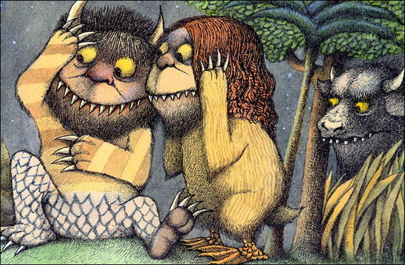 Where the Wild Things are - Nel Paese dei mostri selvaggi - Maurice Sendak
