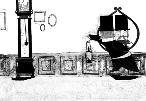 La governante. Allegra storia di un cadavere devoto, di Edouard Osmont, Sara Gavioli - 2010 Orecchio Acerbo