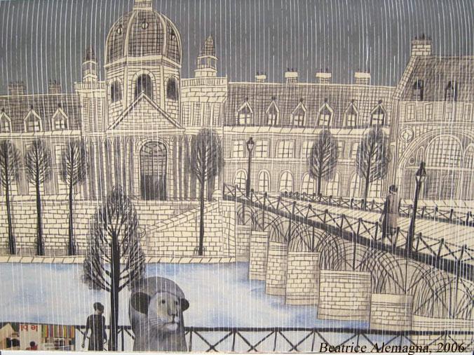 Un leone a Parigi, di Beatrice Alemagna- Donzelli