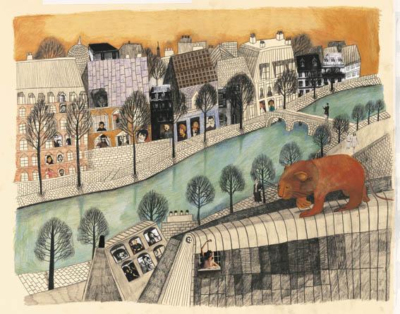 Un leone a Parigi, Beatrice Alemagna - Donzelli