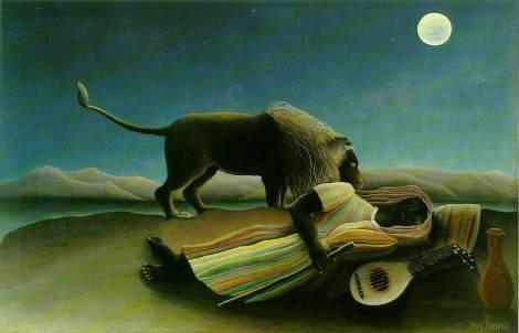 Rousseau - Zingara addormentata, (1897) Museum of Modern Art di New Y