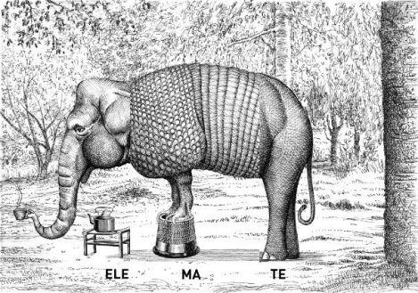 Bestiario universale del professor Revillod. Mirabolante almanacco della fauna mondiale, Miguel Murugarren -Logos