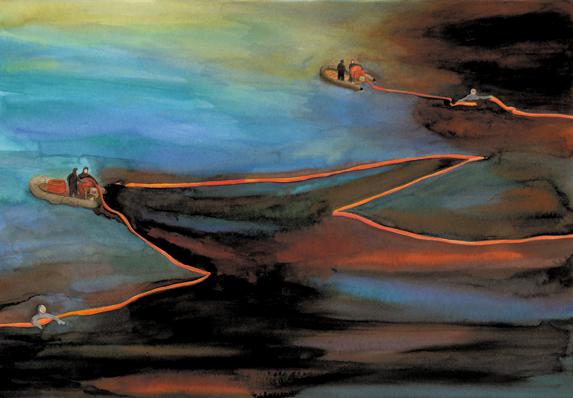 L'isola di fuoco, Emilio Salgari, Luca Caimmi - Orecchio acerbo