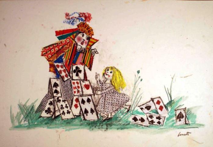 Alice nel paese delle meraviglie, Emanuele Luzzati