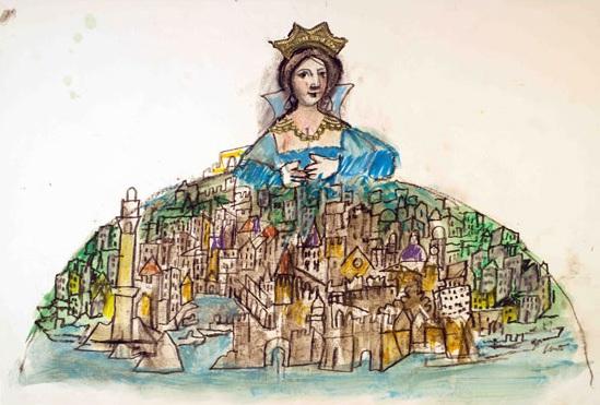 Genova regina, Emanuele Luzzati