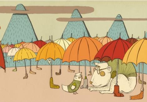 La zampa dell'ombrello, Alice Umana, Agostino Iacurci - Orecchio acerbo