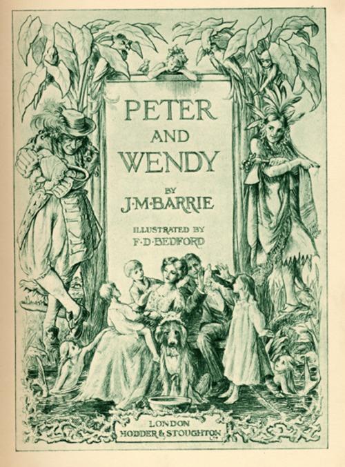copertina prima edizione Peter e Wendy