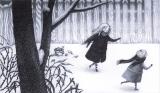 La bambina di neve, Kiyoto- Sakata, Hawthorne - Topipittori