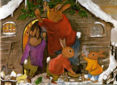 Il coniglietto di Natale, Olga Lecaye, Nadja - Babalibri