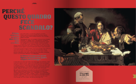 Caravaggio -Entrate nel quadro - Alain Korkos