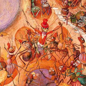 La Cicala e la piccola Formica - Dusan Kallay
