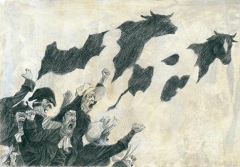 Janet la storta, di R. L. Stevenson, A. C. Quarello - 2011, Orecchio acerbo