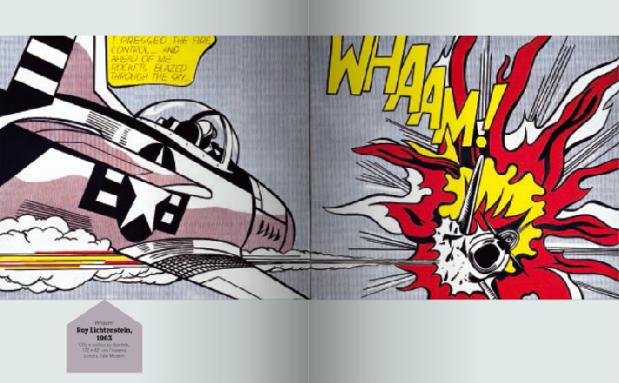 Lichtenstein - Entrate nel quadro - Alain Korkos