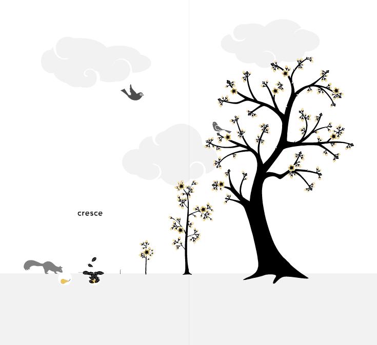 Per fare un albero ci vuole un fiore o uno scoiattolo previdente che