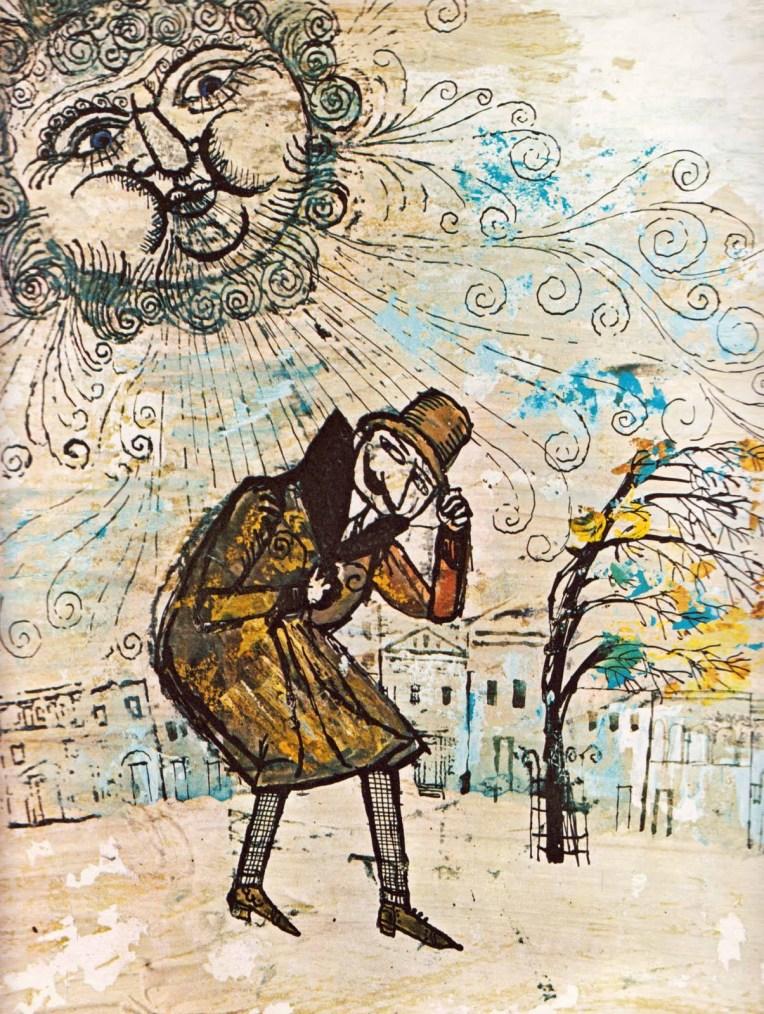 A. e M. Provensen - Il vento e il sole, Esopo