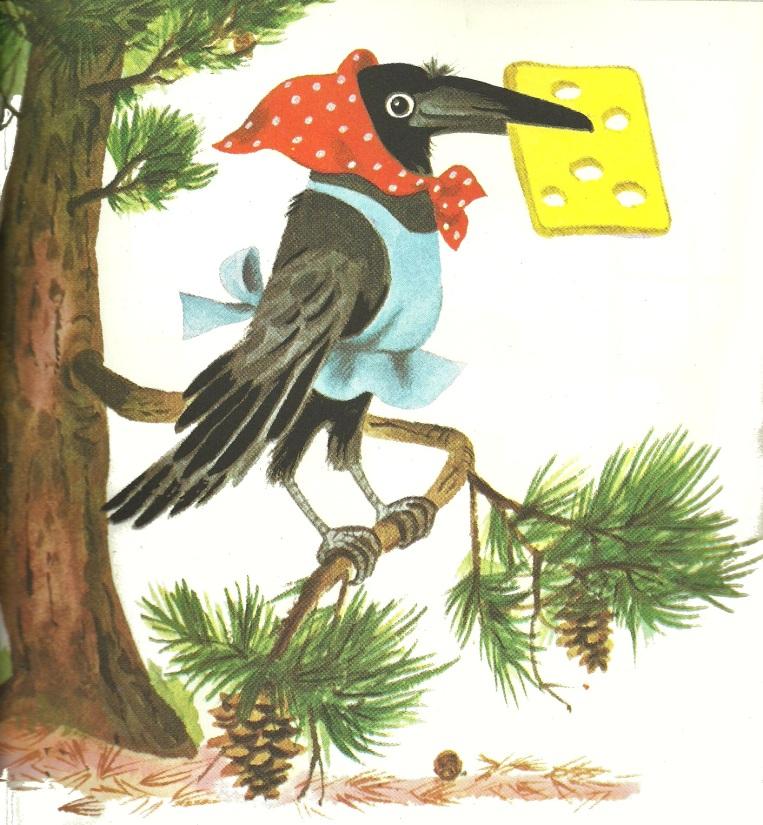 La volpe e il corvo - Richard Scarry