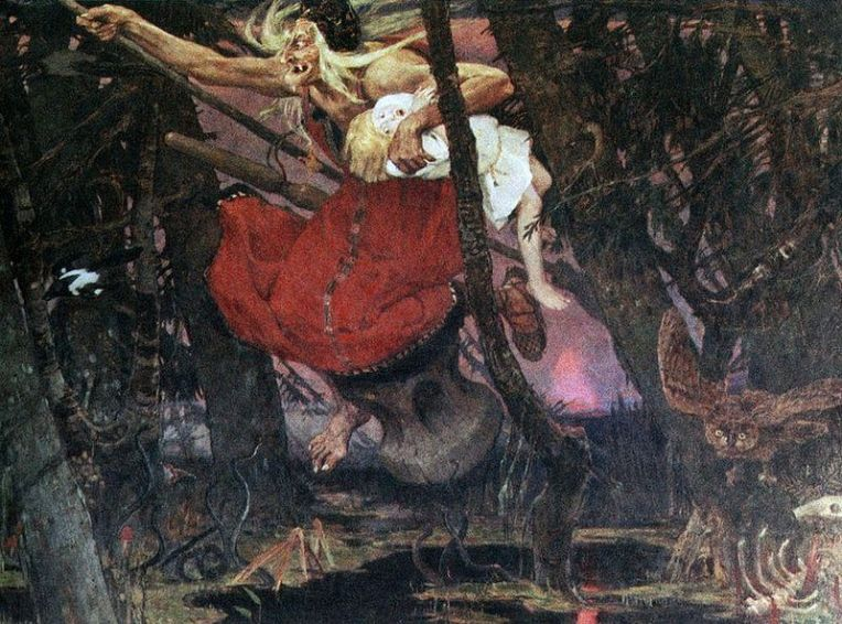 Viktor Vasnetsov (1848–1926) - Baba Yaga