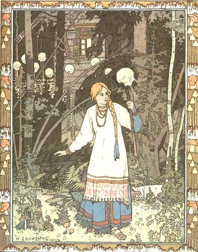 Bilibin, Ivan - Vassilisa the Beautiful.