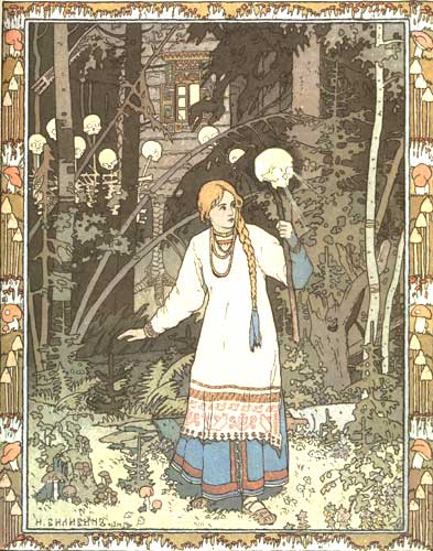 Bilibin, Ivan - Vassilisa the Beautiful.
