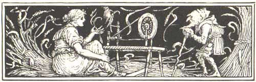 Tremotino - Fratelli Grimm - Walter Crane 1882