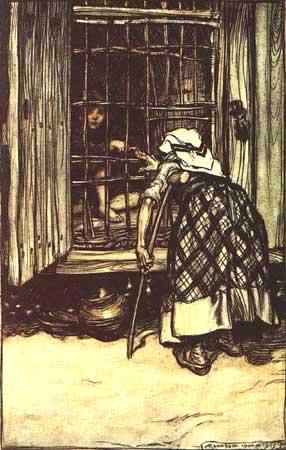 Hansel e Gretel - Grimm, Jacob and Wilhelm - Arthur Rackham 1909