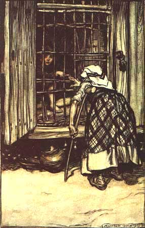 Hansel e Gretel - Grimm, Jacob and Wilhelm - Arthur Rackham 1909