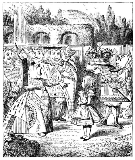 """Alice's Adventures in Wonderland"" (1865), Sir John Tenniel"