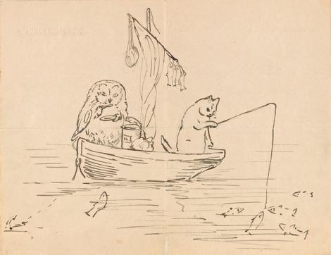 Pagine di una lettera a Noel Moore (4 marzo 1897). Credit: The Morgan Library & Museum, New York