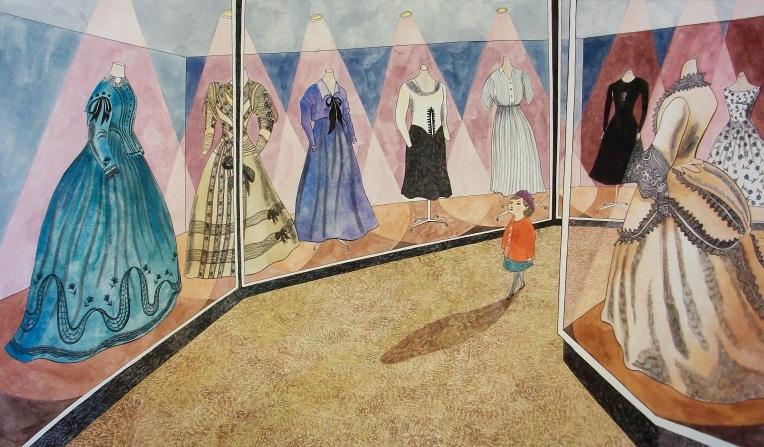 illustrazione extra per Clara Button a Londra una giornata magica © 2007 - 2012 Em Illustrates by Emily Sutton