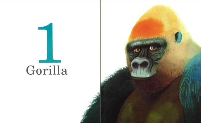 Un gorilla. Un libro per contare, Anthony Browne