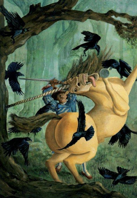Il signor Dettofatto, di Jacob e Wilhelm Grimm. Principessa Pel di Topo, con 15 tavole originali di Fabian Negrin. A cura di Jack Zipes. Donzelli.