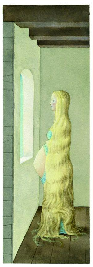 Raperonzolo, di Jacob e Wilhelm Grimm. Principessa Pel di Topo, con 15 tavole originali di Fabian Negrin. A cura di Jack Zipes. Donzelli.