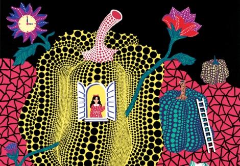 Alice nel paese delle meraviglie - Lewis Carrol - copyrigth © yayoi kusama - Orecchio acerbo