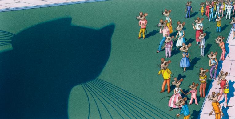 Arriva il gatto di Vladimir Vagin e Frank Asch - Orecchio acerbo 2013