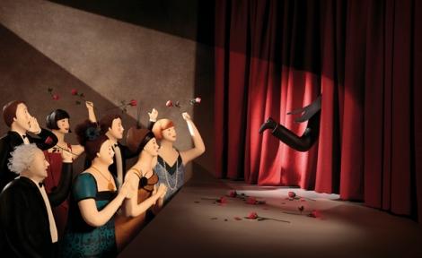 Il ballerino del silenzio, Ivo Rosati e Irma Gruenholz - Zoolibri 2013