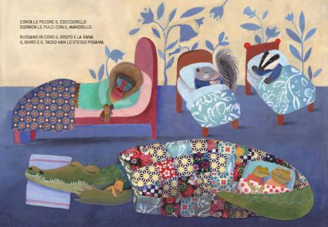 Il grande libro dei pisolini, Giovanna Zoboli & Simona Mulazzani - Topipittori 2013