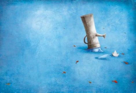 L'uomo d'acqua e la sua fontana, Gabriel Pacheco - Zoolibri, 2013