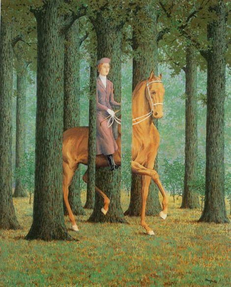 René Magritte Le Blanc-Seing (1965) - Questo non è un libro, Margherita e Rosetta Loy - Gallucci 2013