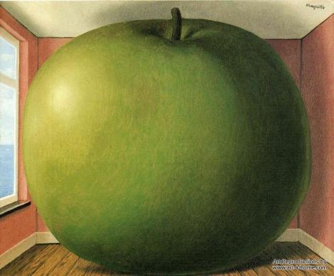 René Magritte La chambre d'écoute (1958) - Questo non è un libro, Margherita e Rosetta Loy - Gallucci 2013