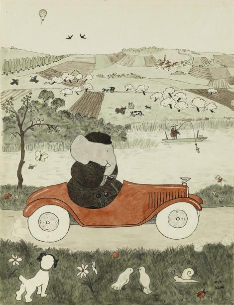 Le storie di Babar, Jean de Brunhoff - 2013, Donzelli