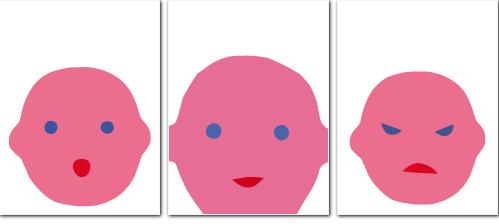 Facce, Antonella Abbatiello - Topipittori, 2013, app