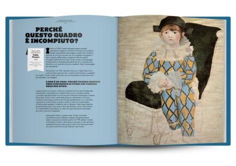 Pablo Picasso, Paulo vestito da Arlecchino, 1924 - da Bambini nel quadro!2013, L'Ippocampo