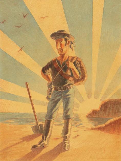 Mio padre il grande pirata di Quarello, Calì - 2013 Orecchio acerbo