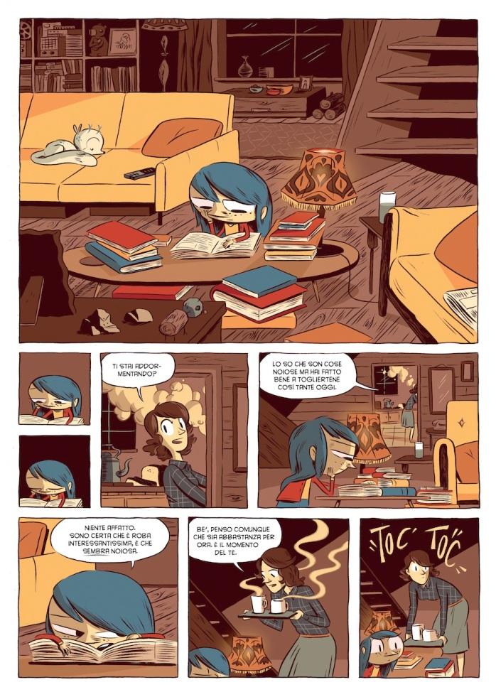 Hilda e il Gigante di Mezzanotte, Luke Pearson - 2014, BaoPublishing