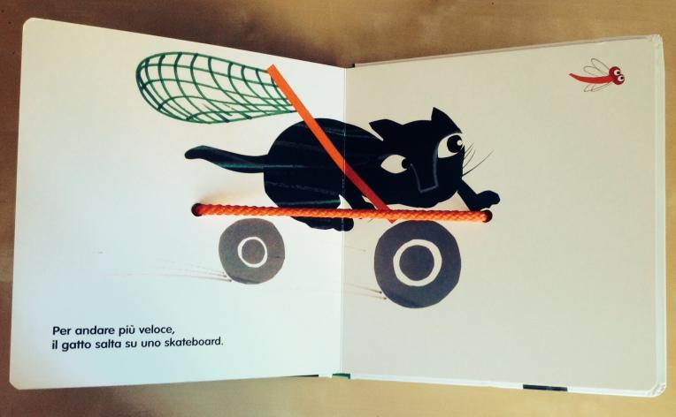 il gatto e la libellula, Tsuneo Taniuchi - Artebambini 2014