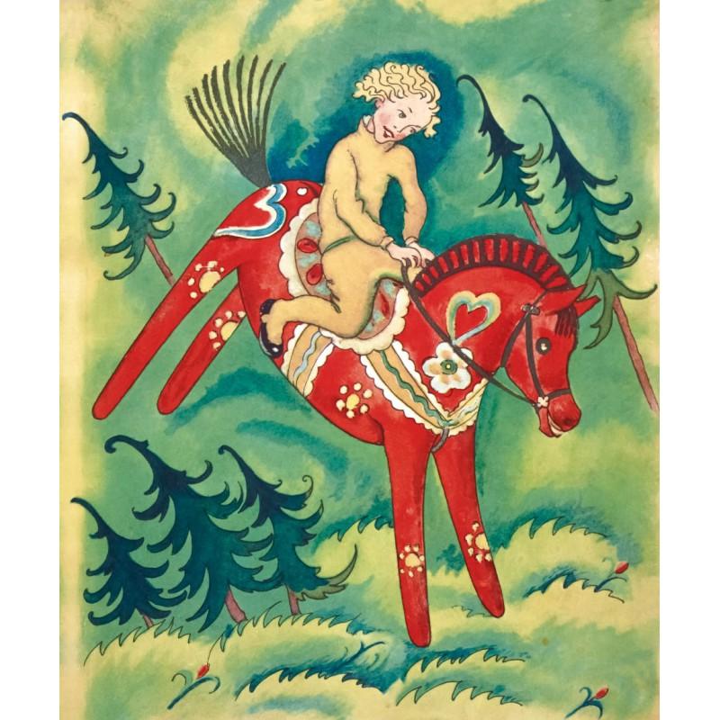 Fiabe d'inverno, Il cavallino rosso, Elsa Moeschlin - Logos, Taschen, 2014