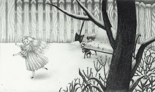 La bambina di neve. Un miracolo infantile, Nathaniel Hawthorne, Kiyoko Sakata- Topipittori, 2007
