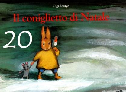 Il coniglietto di Natale, Olga Lecaye - Babalibri