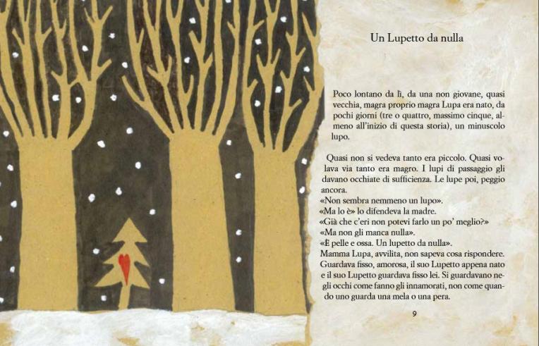 il lupo, l'albero e la bambina1